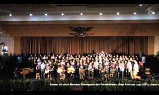 מקהלה אינדונזית בביצוע מפתיע לשיר חסידי!