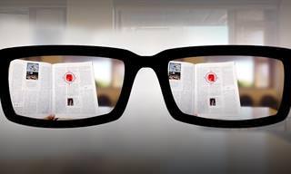 הכירו את משקפי הקריאה של העתיד