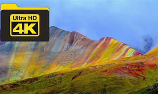 צפו בסרטון וצאו למסע מרתק אל הרי הקשת הצבעוניים של פרו...
