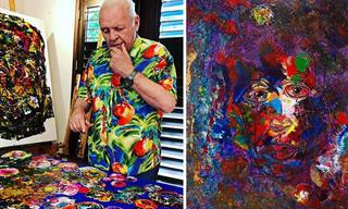 היצירות המפתיעות של 15 מפורסמים מוכרים שהם גם ציירים מוכשרים