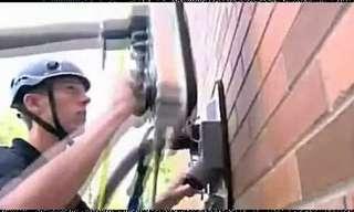 המצאה גאונית שמאפשרת לטפס על קירות!
