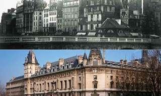 פריז - לפני ואחרי תוכנית אוסמן