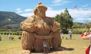 פסטיבל פסלי הקש של יפן