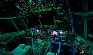 כלי טיס מדהימים ותא הטייס שלהם