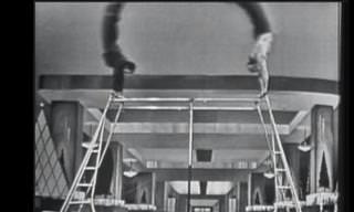 מופע של צמד האקרובטים טום וג'רי משנת 1952
