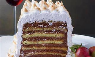 מתכון לעוגות דובוש 7 שכבות