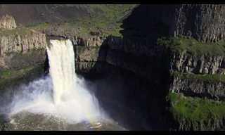 שיא העולם בנפילת מפל