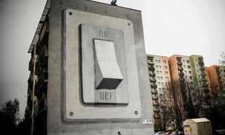 אומנות רחוב מדהימה!