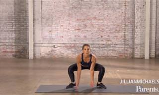 6 תרגילי כושר בדקה אחת – אימון מומלץ לאנשים עסוקים של ג'יליאן מייקלס
