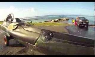 האיש שהפך קיאק לצוללת - מדהים!