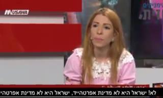 """""""ישראל אינה מדינת אפרטהייד!"""" - צפו בראיון העוצמתי של דימה תאיה"""