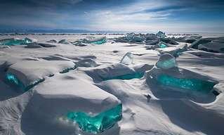 צורות שלג וקרח מדהימות מרחבי העולם