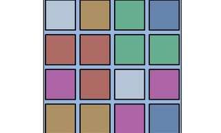 טבלת הצבעים - אתגר הגיון!