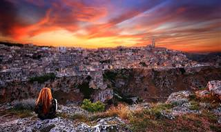 ביקור בעיר האיטלקית מאטרה ובמערות סאסי העתיקות