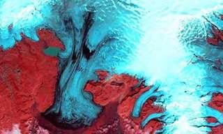 כדור הארץ או אמנות מופשטת?
