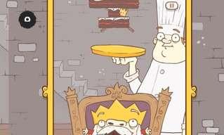 להאכיל את המלך עוגות - משחק ממכר!