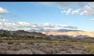 אדמות הקודש במזרח קליפורניה - מרהיב!