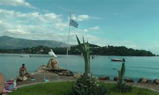 מסע מודרך באי היווני קורפו