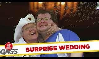חתונה בהפתעה - הדרך הטובה ביותר לתפוס חתן!