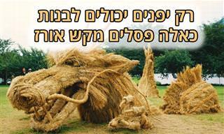 20 פסלים מדהימים בצורת חיות מקש אורז
