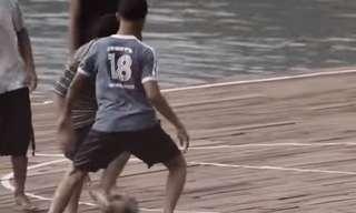 לשחק על המים - סרטון חינוכי ומעורר השראה