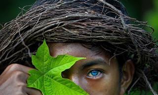15 תמונות שחושפות את הייחוד והקסם של תושבי אינדונזיה