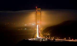 סן פרנסיסקו בערפל - תמונות מדהימות!
