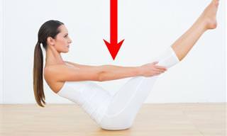 5 תרגילי יוגה ונשימה עמוקה לירידה במשקל וחיטוב הגוף