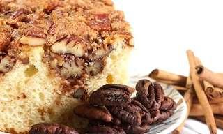 עוגת הפקאן של אביבה - תענוג חורפי!