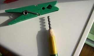 פיסול מדהים בעפרונות!