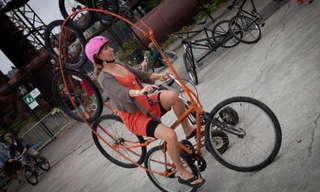 אופניים מעולם אחר - תמונות מגניבות!