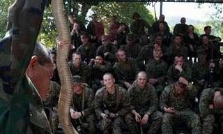 חיילי המארינס 'מבלים בג'ונגל'