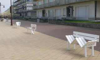 ספסלים מיוחדים בבלגיה