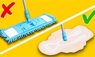 40 טיפים נהדרים שיעזרו לכם לשמור על בית נקי בקלות