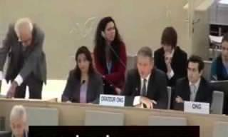 """קצין בריטי מצדד בצה""""ל בנאום בפני האו""""ם"""