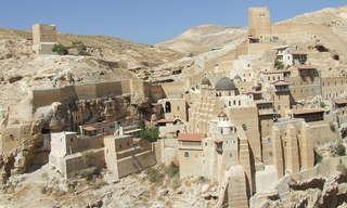 מנזר מר סבא - לא להאמין שזה בישראל