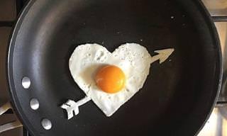 20 תמונות מעבודתו של האמן שיוצר יצירות אמנות באמצעות ביצים בלבד