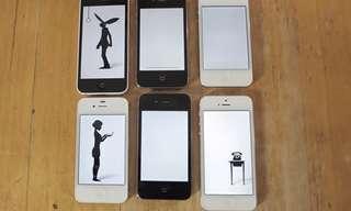כשסמארטפונים יוצרים אומנות ביחד