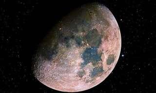 תמונות מדהימות של הירח