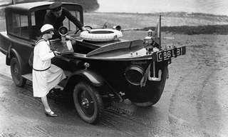 כלי רכב היסטוריים מצחיקים