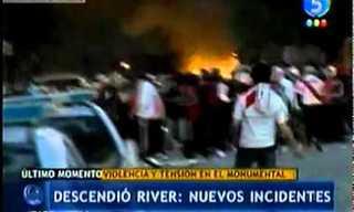 הרוג ו-90 פצועים במהומות אוהדי ריבר