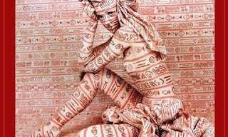 ציורי הגוף המדהימים של אמה האק