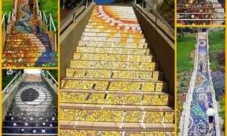 מדרגות נאות - גרמי מדרגות מדהימים מהעולם