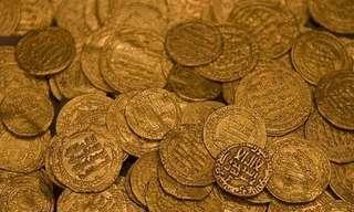 בלב רמלה: אוצר מטבעות זהב היסטורי!