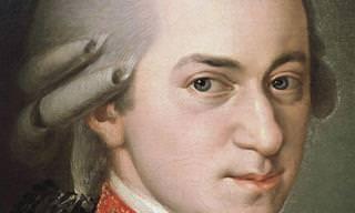 20 מיצירותיו המופלאות של וולפגנג אמדאוס מוצרט