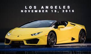 21 מכוניות מדהימות שהוצגו בתערוכת לוס אנג'לס 2016