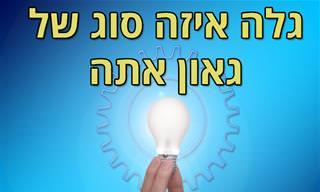 בחן את עצמך: איזה סוג של גאונות יש בך?