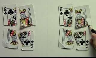 העתק מושלם של קלפים - מדהים!