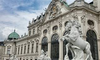 מפה אינטראקטיבית של מרכז העיר ההיסטורי של וינה