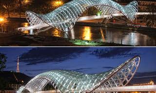 אדריכלות שהיא יצירת אמנות - עיצובים מדהימים